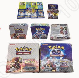 Wholesale Poke Trading Cards Games English Edition Anime Cards Board game Cards Kids Toys OOA883