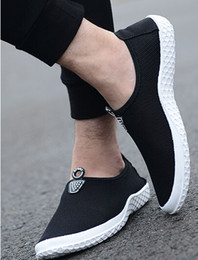 Wholesale Hot sale Fashion Men s shoes autumn summer high quality Black Casual Shoes Real Pictures Have in stock