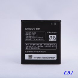 Wholesale Cell Phone Batteries Genuin Black Portable Storage MAH Battery Absolutely Original Quality Assurance For Lenovo BL209
