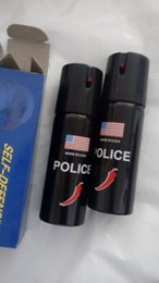 Wholesale Self Defense Pepper Spray RY Defender Hot Protection Device Safety Security with leather case in stock now Ms outdoor self defense equipm
