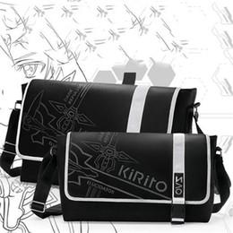 Wholesale Japan Anime Sword Art Online Cartoon Animation Cosplay Shoulder Bag SAO Kirigaya Kazuto Messenger Crossbody Bags