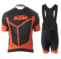 NEW KTM Tour de france Cycling jersey Cycling Clothes Cycling wear Cycling short sleeve Free Shipping Bib short sleeve suit