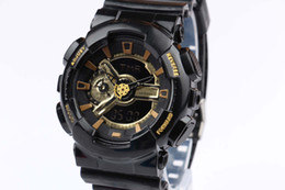 Wholesale New watches men luxury brand GA110 men sports watch men s fashion brand watch digital and analog watches