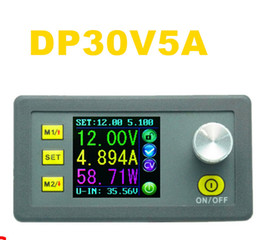DP30V5A Constant Volt Current Step-down Programmable Power Supply module buck Voltage converter voltmeter color LCD Display
