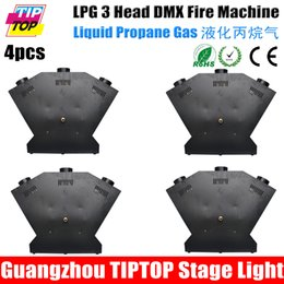 Wholesale TIPTOP China Stage Effect Pack LPG Head Fire Machine DMX512 Flame Jet Equipment Jet Nozzle Solenoid Control Gas Valve High Spray