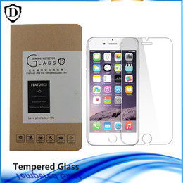 Wholesale 0 MM Tempered Glass For New Iphone s s plus Screen Protetor film Anti fingerprint coating with box