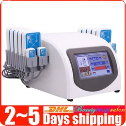 Wholesale Hot Sale mw nm nm Lipo Laser LLLT Lipolysis Body Slimming System Weight Loss Beauty Machine Pads