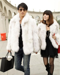 Fall-New winter grass leather long section of men and women couple models thick fur free shipping