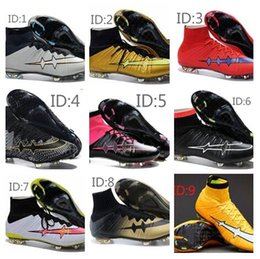 Wholesale 2015 v original Magista Superfly FG Soccer Shoes Cleats Quality Magista High Ankle Football Boots Shoes