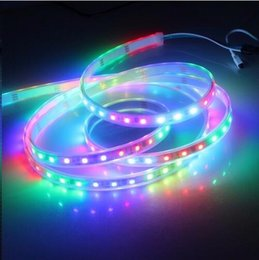 Wholesale best price m DC12V ws2811ic RGB SMD dream addressable Digital ws2811 led pixels strip for Christmas Home Party Decoration free ship
