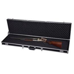 Wholesale 53 quot Long Aluminum Locking Rifle Gun Case Lock Shotgun Storage Box Carry