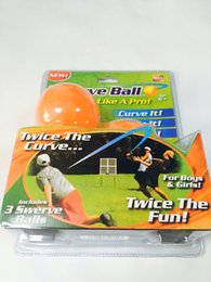 Wholesale Swerve Ball Sport Outdoor Play Toys The Amazing Ball That Lets Anyone Throw Like a Pro Children Toy yl