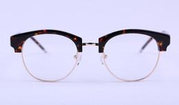 wholesale 2017 Brand New York Brand TB807C Plain Reading Eyeglasses Frames Fashion tb style metal half frame eye glasses spectacles 52mm