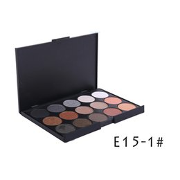 15 Color Nude Smoky Pearl Eyeshadow Shimmer Eyeshadow Makeup Palette Set Professional Eye Shadow Foundation Makeup Tool 3 Palettes