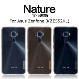 Wholesale For Asus Zenfone ZE552KL Silicon Back Cover Nillkin Nature Series Transparent Clear Soft TPU Case with high quality