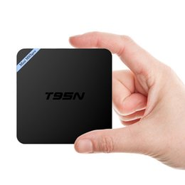 Wholesale T95N Mini M8S Pro GB GB K Amlogic S905X Kodi Android Smart TV Box Streaming Media Player with D Blu ray Bluetooth KODI