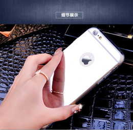"""New Rose gold Luxury Mirror Soft Clear TPU Case For iphone 6 6S 4.7 inch & iPhone6 Plus 5.5"""" & 5se 5s 5 Cover Back"""