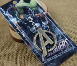 Syndicats d'usine en Ligne-016 Nouvelle arrivée de l'alliage métallique 3D Avengers porte-clés captain america Logo Le syndicat de l'alliage de justice prix usine de métal 170568