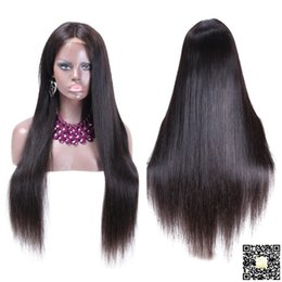 2016 Full Lace Human Hair Wigs Silky Straight Human Hair Lace Front Wigs Glueless Lace Wig With Baby Hair