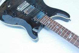 Free Shipping Reed smith custom Electric Guitar,Grey guitar with inlay birds fingerboard,Chrome hardware