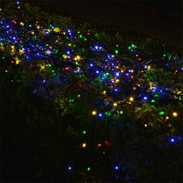 Wholesale-Solar string 7M 50 LED Powered Xmas garland fairy Camping  christmas decoration waterproof Outdoor garden solar led light lamp