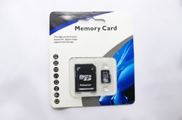 Wholesale Hot NEW GB GB GB MICROSD NEW CLASS MICRO SD GIFT MICRO TF FLASH MEMORY CARD