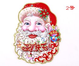 Wholesale 2016 high quality Mr Mrs Santa Claus Christmas Chair Cover Large Thick Seat Back Cover Xmas Decoration Ornament navidad