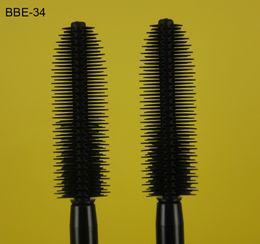 Wholesale 3D Korea Fiber Lash Waterpfroof Eyeborw Mascara Brush Head for Art School Girls Mold Actress Beauty Make Up Tool Packing Box Set BBE D