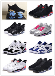 Wholesale Air Retro VI Valentine s Day GS White Infrared Black Silver Gold Oreo Sprite Sport Fuchsia Good Quality Hot