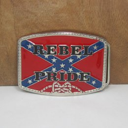 BuckleHome Rebel pride belt buckle confederate belt buckle fashion buckle FP-01602 free shipping