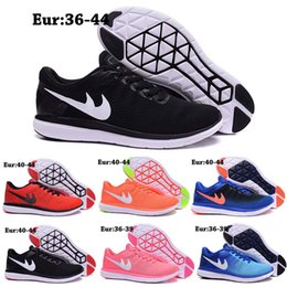 Wholesale 2016 Newairl Flex Series Men Running Shoes Athletic Black Pink Casual Sports Trainers For Women Shoes Free Runs Sneakers Size Eur