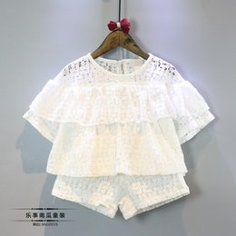 Wholesale Hug Me Girls Outfits and Sets Babys Kids Clothes New Summer Sleeveless Vest T shirts and Shorts Fashion One Pieces BB