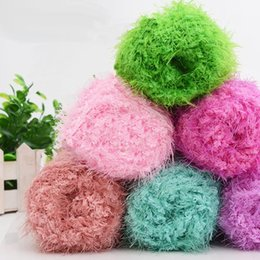 Wholesale 500g High Quality Mink Cashmere Yarns for Knitting Mink Baby Wool Hand Knitted Hook Needle Work Mink Wool yarn for Hand knitting Thread