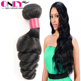 Wholesale Only Hair Products Unprocessed Virgin Hair Extensions Best Human Hair Weave Brand Peruvian Weave Wefts Loose Wavy