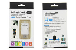 Free Shipping Wholesale i-Flash Drive TF SD Memory High Speed Card Reader for iPhone7 6S 5s 5c 5