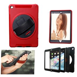Wholesale iPad Air Case New Flying wheel Air iPad Case for iPad Air and iPad Air Degree Rotatable Rugged Shock Proof with Built in Stand S