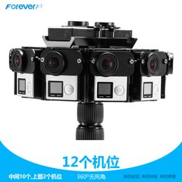 Wholesale CNC Aluminium Full Shot Photography Gimbal Panorama Frame Degree mount for Gopro Hero Can Mount Cameras