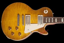 Wholesale 10S Custom Shop Joe Bonamassa Skinnerburst Tom Murphy Aged Signed Dirty Lemon Electric Guitar