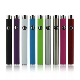 Wholesale Factory direct supply colourful automatic battery and USB Thc cbd oil e cigarette mah vape pen battery starter kit int03