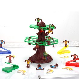 Smart tree top jumping monkeys game Traditional family games educational toys board games tree happy jumping monkey