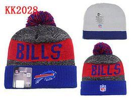 Wholesale Buffalo Beanies Winter High Quality Beanie For Men Bills beanie American Football Women Skull Caps Skullies Knit Cotton Hats