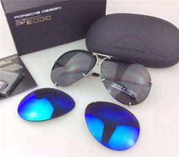 Wholesale Colorful Glasses For Men - Colorful Pilots Sunglasses for Men Big Yurt CR-39 Lenses Mental Alloy Full Frame Adults Mens Sun Glasses Cheap