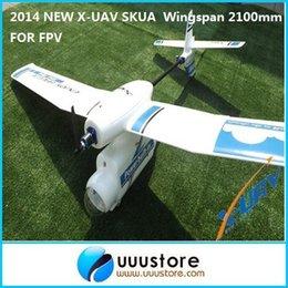 Wholesale FPV2014 NEW X UAV SKUA FPV AIRPLANE Wingspan mm FOR PROFESSIONAL PILOT