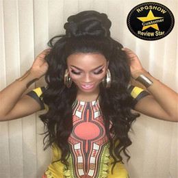 brazilian hair glueless full lace wigs with bangs &lace front human hair wigs loose wave hair wigs