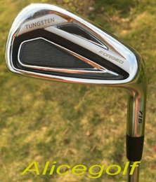 2016 New golf irons AP2 716 Forged irons set assembled with project X 6.0 steel shaft