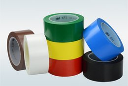 Wholesale 3M471 warning tape floor adhesive tape color geopositioning wear Incognito no adhesive PVC warning crossed logo