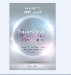 Wholesale New Book Social Worker Psychotropic Medicatiom Toward Effective Collaboration With Clients Families and Providers Fourth Edition