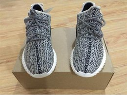 Wholesale Discount Boost Turtle Dove Running Shoes boost shoes Cheap Kanye West Sports shoes mens sneakers women BOOST With Box
