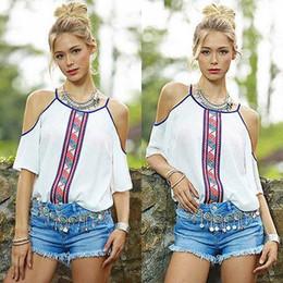 plus size 5xl women tops blouses white silk top Sexy The Shoulder Off Blouse Fashion Chiffon short Sleeve Shirt Casual Summer t shirts