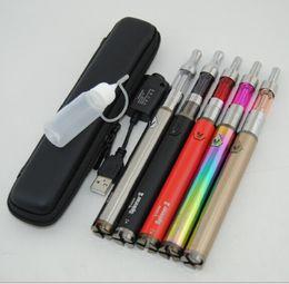 Acheter en ligne Métal cas ecig-vision spinner ii 2 Mini Protank Starter Kit cas ecigarette tension variable 3.3v-4.8v batterie vape stylo ecig ego DHL gratuit